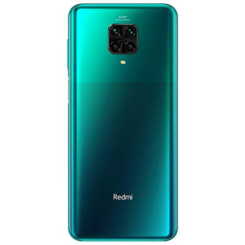 Smartphone Redmi Note 9 Pro Verde 128GB, Tela de 6.67, 6GB de RAM, Câmera Traseira Quádrupla, Android 10 e Processador…