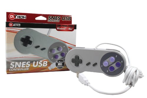 Classic USB Super Nintendo Controller (Playstation 3 Super Mario)