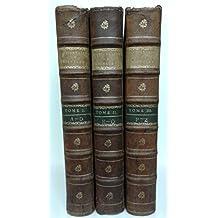 Dictionnaire de la langue francoise, ancienne et modene, de Pierre Richelet, Nouvelle edition, augmentee d'un tres-grand nombre d'articles. (Serie complete Tome 1,2 et 3)