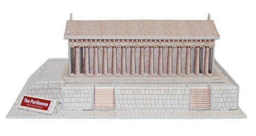 Creative 3D Puzzle Paper Model Parthenon