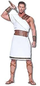Héroe griego Teseo Traje de recargo Tamaño