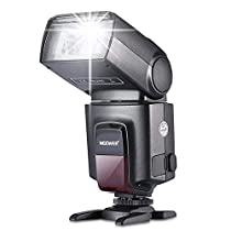 Neewer TT560 Flash Speedlite for Canon Nikon Sony Panasonic Olympus Fujifilm Pentax Sigma Minolta Leica and Other SLR Digital SLR Film SLR Cameras and Digital Cameras with Single-Contact HotShoe