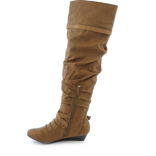 Shiekh Shiekh Tamara Womens Boot 50 Chestnut Womens qqw8rn5px