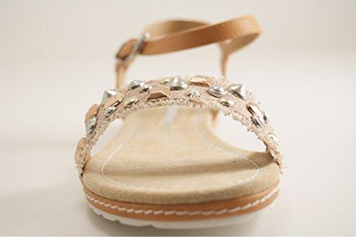 Maria Mare Women's Court Shoes Beige DEYAXBaQ9