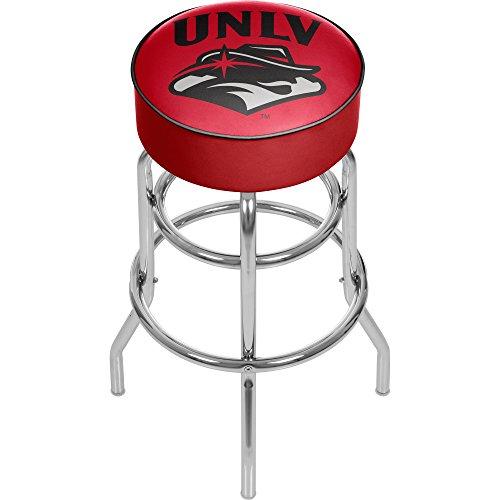 Vegas Chrome Bar Stool (NCAA UNLV Padded Swivel Bar Stool)