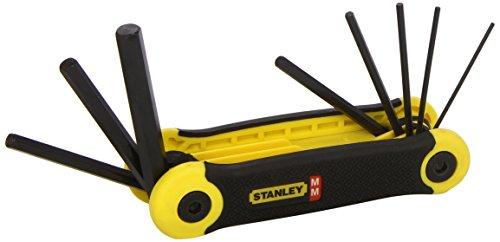 Stanley 2-69-264 Metric Folding Key-Set , Silver