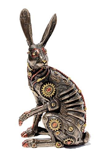 Veronese Steampunk Jack Rabbit Cold Cast Bronze Statue