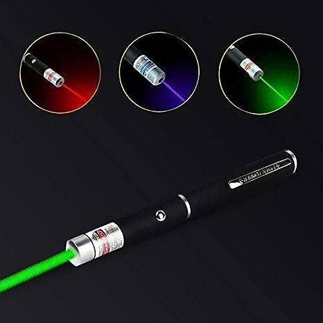 DANMEI 3PCS Laser Pointer,5MW High Power Laser Sight Pointer,Green Blue Red Dot,Toys,Teaching Indicator