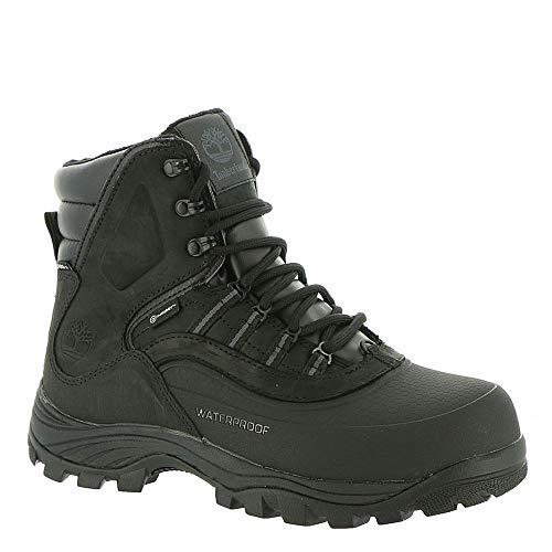 Timberland Men's Chocorua Trail Shell Toe Waterproof Hiking Boots Black Size 10.5 M US ()