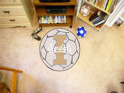 University of Idaho Soccer Ball Rug by Fanmats