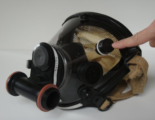 Magnetic Fog Wiper for Firefighter Mask