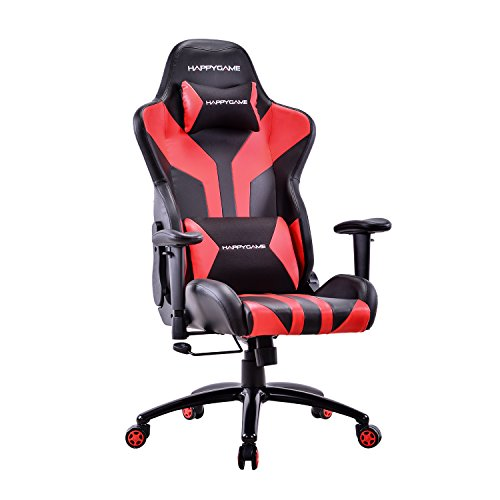 Happygame Racing Style Gaming Chair Adjustable Tilt