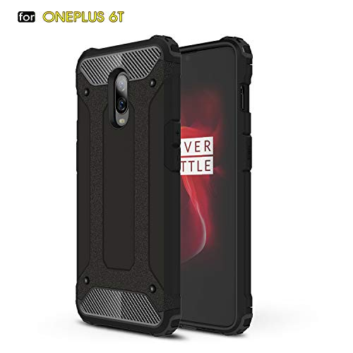 MYLB OnePlus 6T Case,Hybrid Rugged Dual Layer...