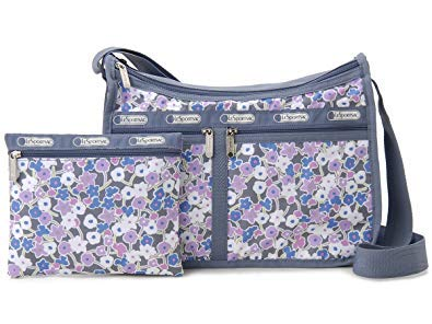 LeSportsac Delightful Pastel Deluxe Everyday Crossbody Bag + Cosmetic Bag