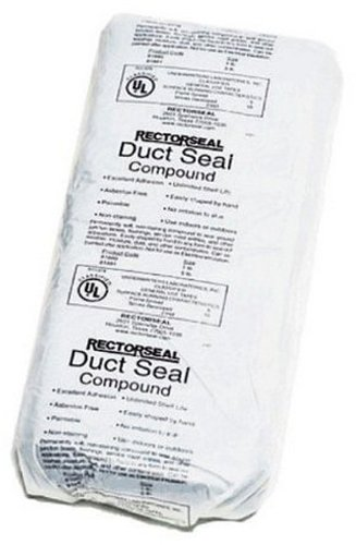 Duct Seal - Rectorseal 81881 5-Pound Duct Seal Compound