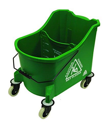 O'Cedar Commercial 971 36 quart MaxiPlus Mop Bucket, Green