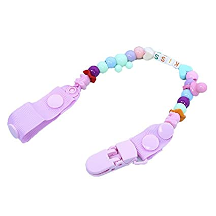 vyset (TM) Funny Baby chupete Clips Kids Chupete Avent Beaded ...
