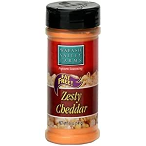Amazon.com : Popcorn Seasoning Flavor: Zesty Cheddar