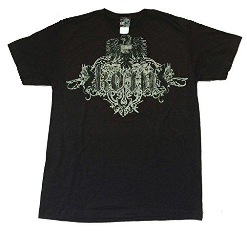 Korn Confessions Ornate Crest Image Black T Shirt Soft (2X) (Printed Korn T-shirts)