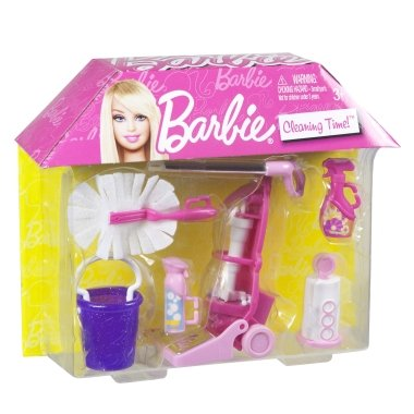 Barbie Cleaning Time – Pink, Baby & Kids Zone