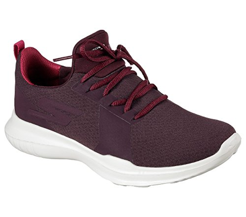 Skechers Performance Women's Go Run-Mojo Running Shoe, Burgundy, 11 M US