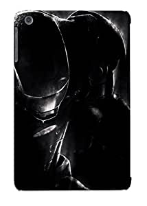 Fashionable Style Case Cover Skin Series For Ipad Mini/mini 2- Iron Man In The Shadows