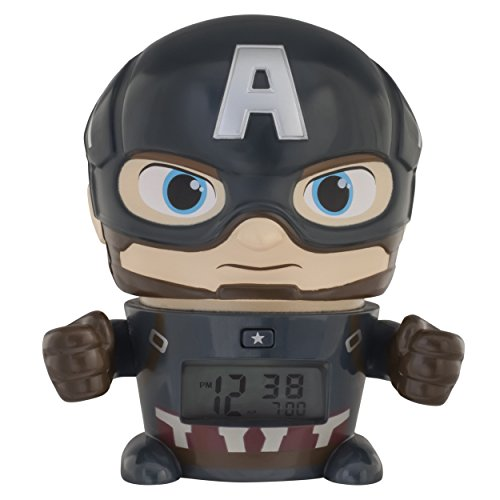 Bulb Botz Avengers: Infinity War Night Light Marvel Captain America Alarm ()