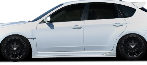 (Duraflex Replacement for 2008-2014 Subaru Impreza STI 4DR / 5DR / 2011-2014 Impreza WRX 4DR / 5DR C-Speed 2 Side Skirts Rocker Panels - 2 Piece)