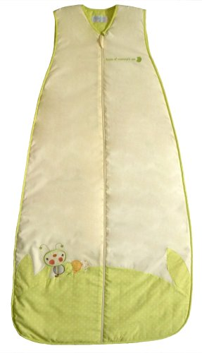 LIMITED TIME OFFER! The Dream Bag Children's Sleeping Bag Caterpillar 3-6 Years 1.0 TOG - Cream