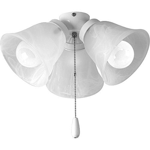Progress Lighting P2642-30WB Fan Light Kit, White ()