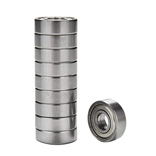 (Shaft - 10pcs Lot Stainless Steel Skate Skateboard Wheels Silver Bearings Abec 7 608zz Shafts Roller Scooter - Show Isaac Retainer Joint Maintenance Steering Tool Original Zinc Linear Poster Nee)