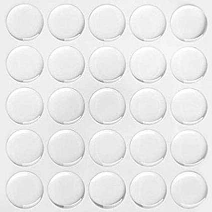Circle Domes Dots Seals 25mm Round Clear Epoxy Stickers FREE SHIPPING