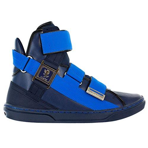 - VLADO Footwear Men's Aristocrat 2 Navy Leather Sneaker US 9.5