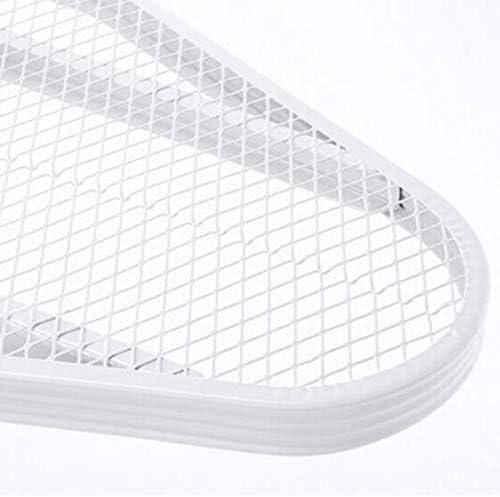 Planche À Repasser Pliante Au Sol Avec Tablette En Fer, 33x108cm Surface  Réglage De Hauteur Universel  Réseau D'écoulement De Vapeur
