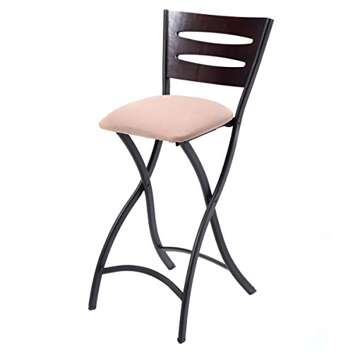 Costway Set of 2 Folding Bar Stools Counter Height Bistro  : 41mfoXkkLnL from www.alumigogo.com size 500 x 500 jpeg 19kB