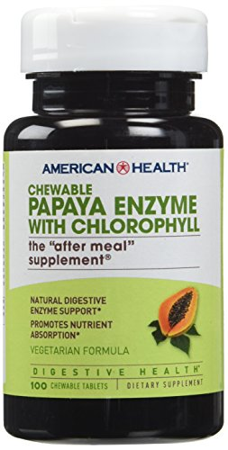 Papaya Enzyme w/Chlorophyll Chewable Tablets^