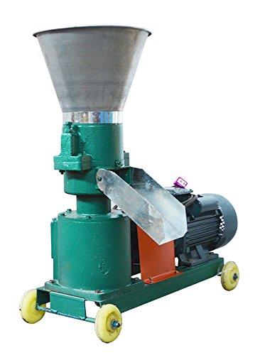 Green 5mm 3KW Farm Animal Pellet Mill Machine Feed Pellet Duck Mill Machine 220V 239408