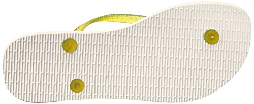 Yellow Havaianas Flop Women's Paisage Slim White Flip AwYAq6