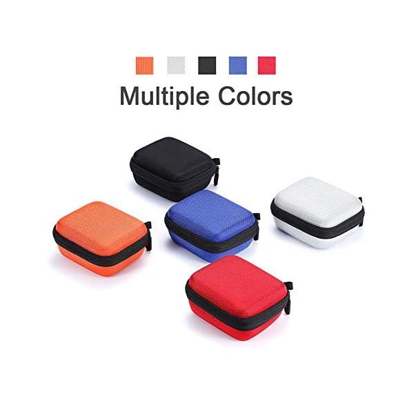 L3 Tech Etui pour JBL Go, Sacoche de Transport Rigide pour JBL GO, Haut-Parleur Bluetooth sans Fil (Boîtier Seulement, Haut-Parleur et Accessoires Non Inclus) - Rouge 6
