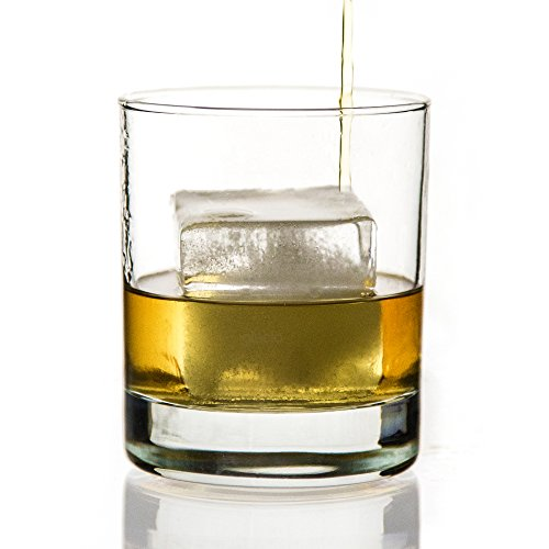 glacio-Ice-Cube-Trays-Silicone-Large-Ice-Tray-Molds-for-making-8-Giant-Ice-Cubes-for-Whiskey-2-Pack