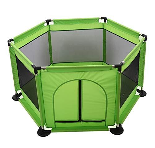 人気定番 赤ちゃんのクローンマット幼児のフェンスプラスプロフェッショナル昆虫プルーフネットと屋外と屋内のための防水オックスフォード布でベビープレイペン Green) : (サイズ さいず : Green) Green さいず B07KFGCSHT, 【新発売】:46f4a5c4 --- a0267596.xsph.ru
