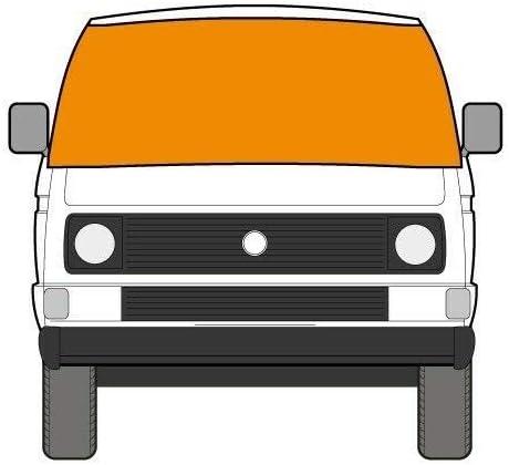 silberfarben Just Kampers Externe Thermo-Windschutzscheibenabdeckung f/ür VW T25 T3 1979 92