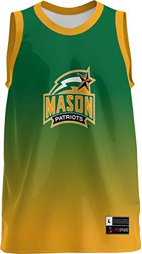 - ProSphere George Mason University Boys' Replica Basketball Jersey - Ombre FFAA