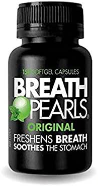 Breath Pearls Original Freshens Breath (150 softgels) New pack 150 counts