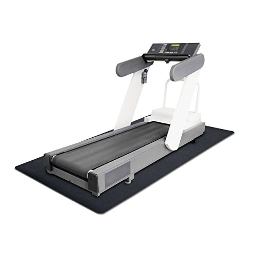 "MotionTex Treadmill Exercise Equipment Mat, 36"" x 84"", Black"