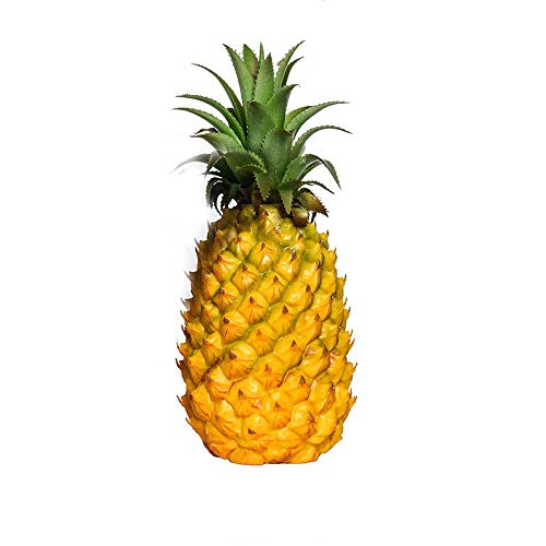 GRT Realistic Artificial Pineapple Simulation Fake Pineapple Fruit for Display High Simulation Artificial Dummy Fruits Vegetables Studio Photo Prop DIY Decoration Accessories Artificial Food Toys