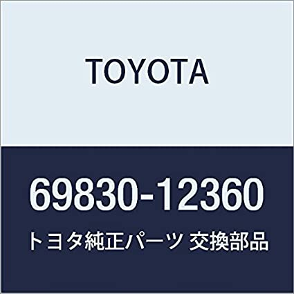 Toyota 69830-12360 Window Regulator