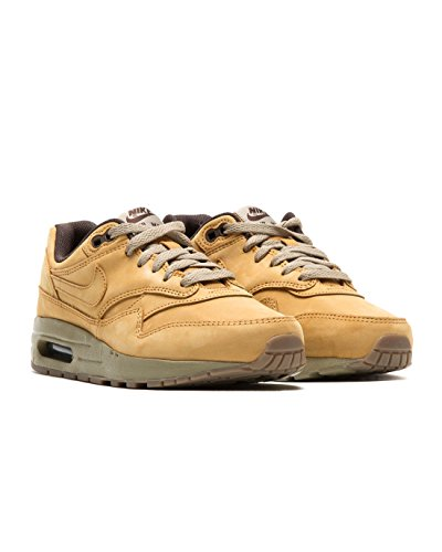 NIKE Air Max 1 LTR PRM (GS) Running Trainers 888166 Sneakers Shoes Bronze Baroque Brown 700 cheap outlet 2015 new cheap visit new RxQhBFDAxX