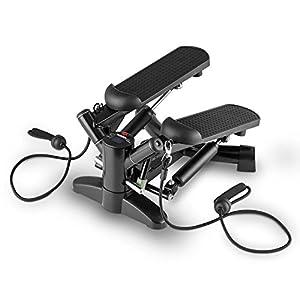 Klarfit Powersteps Twist-Stepper mit Expander-Bändern und Trainingscomputer...