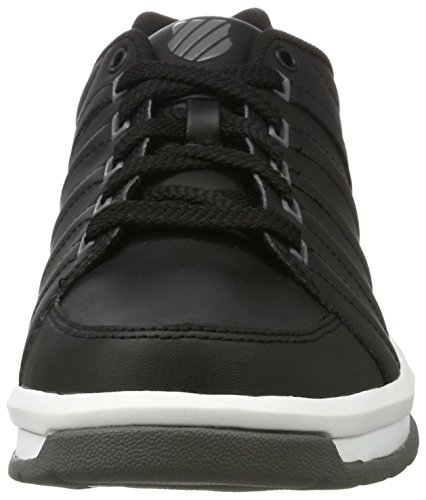 K-Swiss 3240, Zapatillas Hombre Negro (Black/Charcoal)